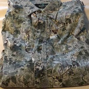RedHead Short Sleeve Deer Shirt Large